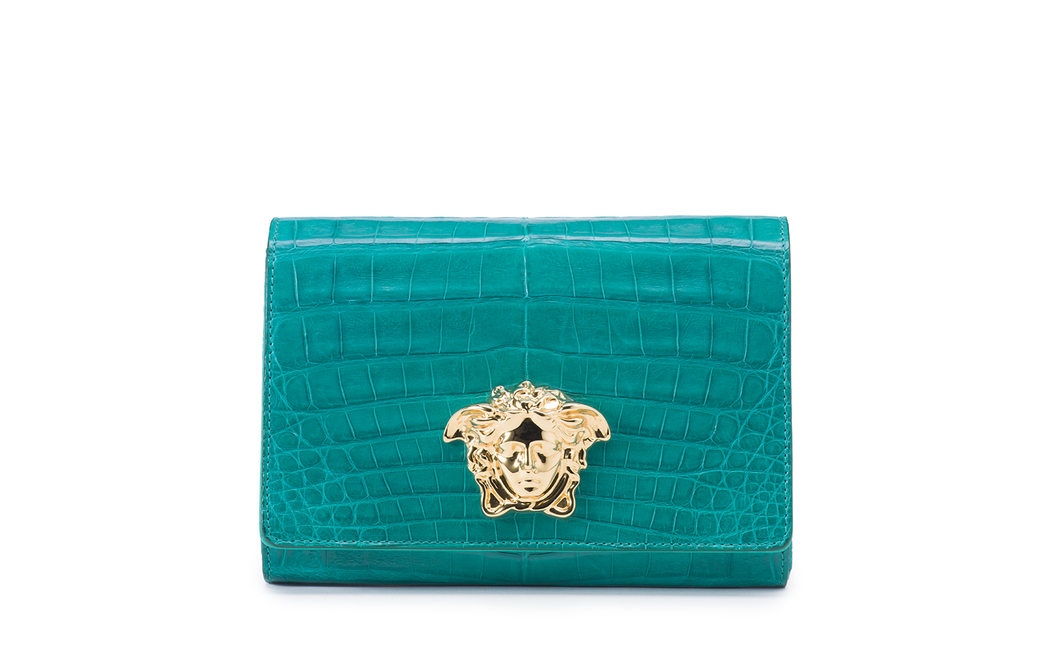 VERSACE Palazzo Evening Bag - Green
